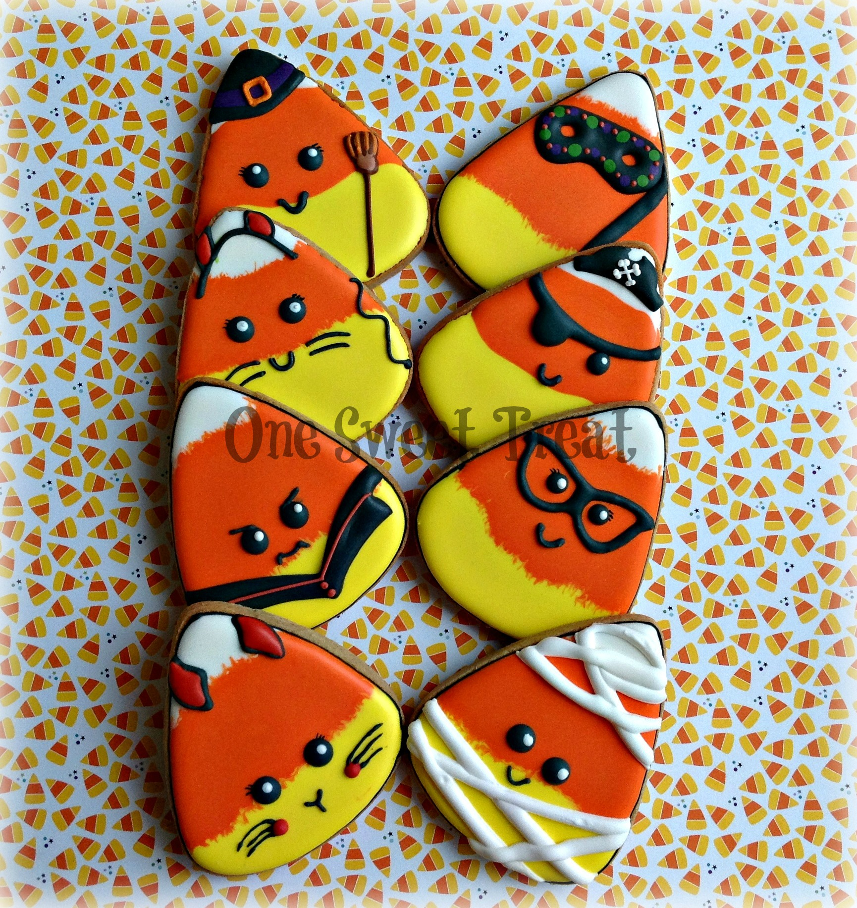 candy corn faces L IMG_6906