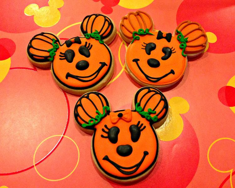 Pumpkin Halloween cookies