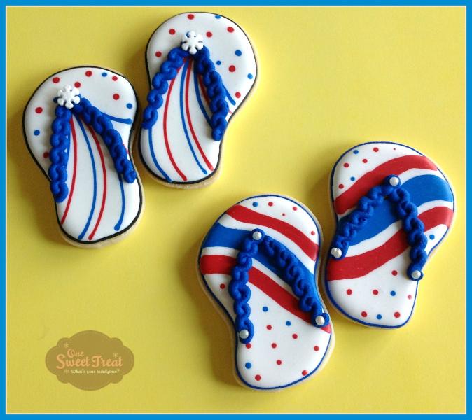 sandals cookies