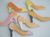 shoe-cookies-orange-collection