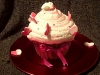 Giant Cupcake with Hearts