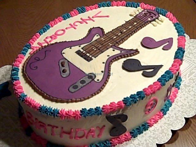hannah montana b-day cake