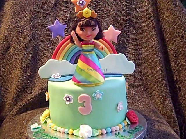 rainbow-dora-cake