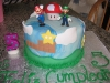 Mario brothers b-day cake