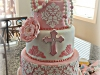 Damask Communion Cake IMG_5823