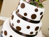 Black polka-dot-wedding-cake