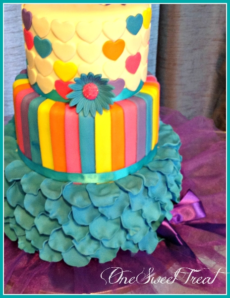 Whimsical Cake closeup