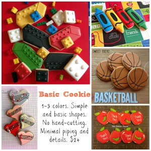Basic cookies Collage