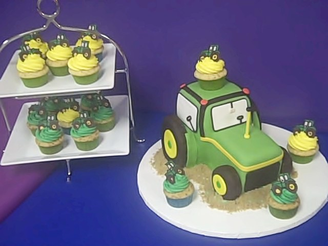 One Sweet Treat John Deere Birthday Cake