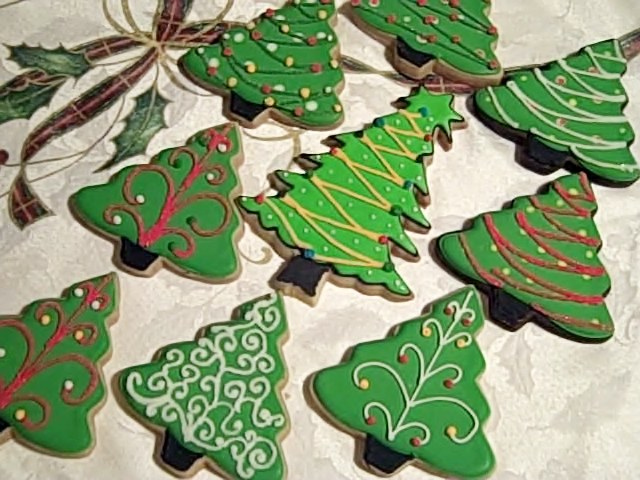 Decorating Ideas For Christmas Tree Cookies : One sweet treat ? holiday extravaganza at st francis of