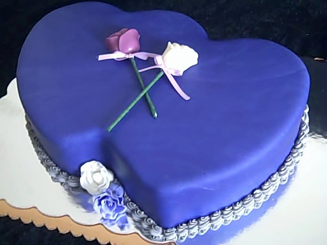 Two Heart Cake Images : One Sweet Treat   Double Hearts Cake