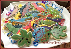 Dino cookie platter1