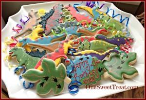 Dino cookie platter1