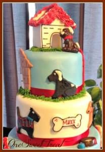 Puppies Cake 3lvls 3