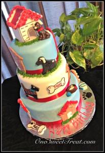 Puppies cake 3lvls 2