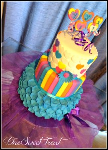 Whimsical Cake 19