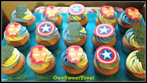 avengers cupcakes 1