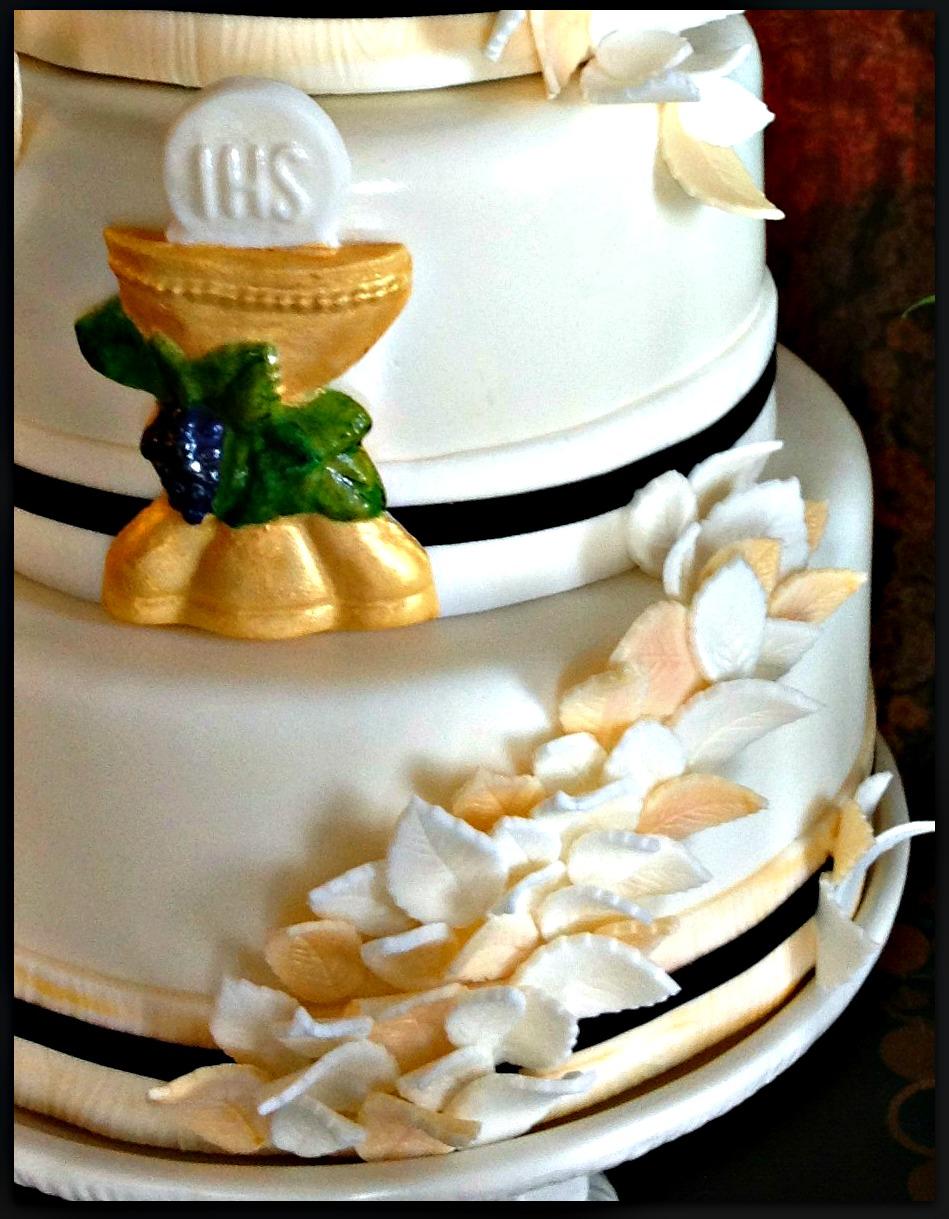 Rosary Cake Designs