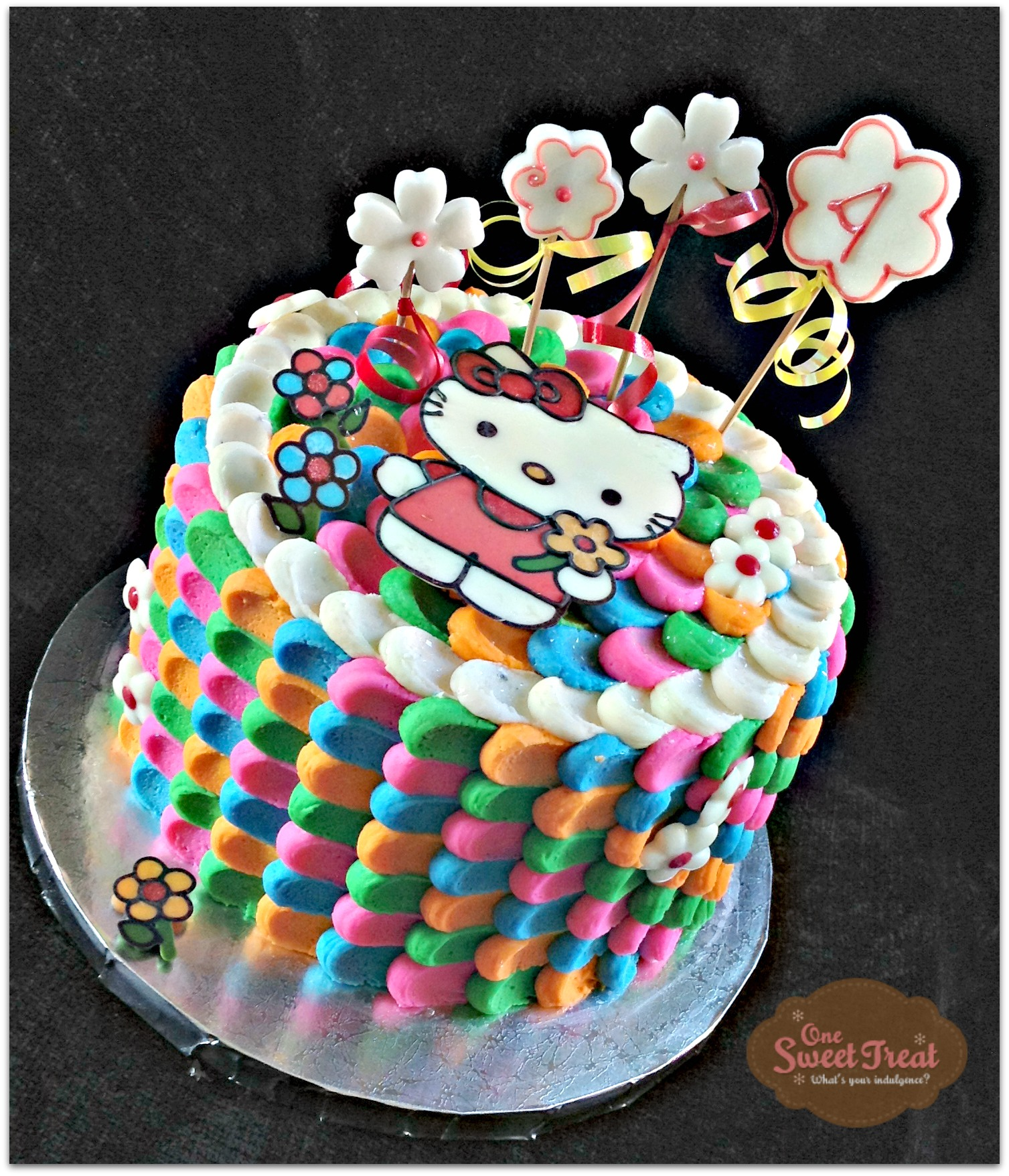 One Sweet Treat Hello Kitty Cake and Cookies