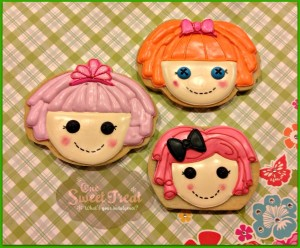 Lalaloopsy Cookies