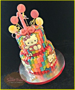 One Sweet Treat Hello Kitty Cake