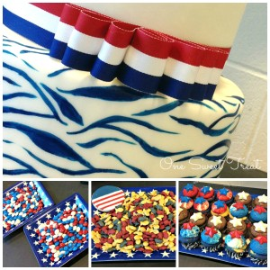 4 July Treats  Collage