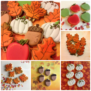fall cookies 2013 Collage