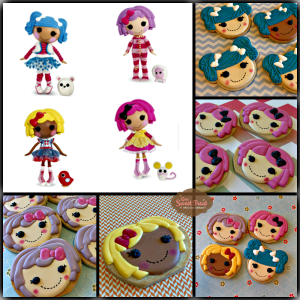 lalaloopsy logo Collage
