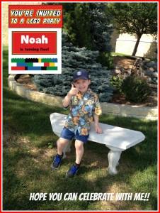noah's party invitation