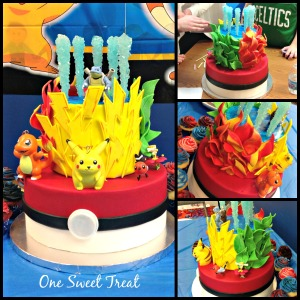 Pokemon Cake - Noah