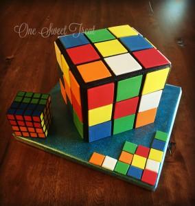 Rubix Cube Cake IMG_0993