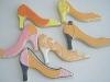 shoe-cookies-orange-collection